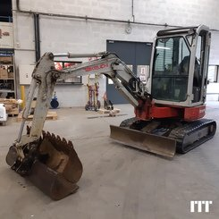 Mini digger Takeuchi TB 28 FR - 1