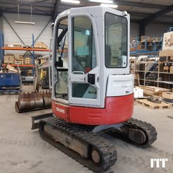Mini digger Takeuchi TB 28 FR - 5