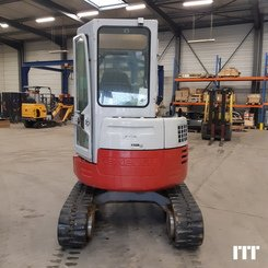 Mini digger Takeuchi TB 28 FR - 6