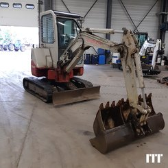 Mini digger Takeuchi TB 28 FR - 3